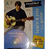 First-Act Discovery Learn and Play Guitar Book & CD