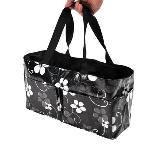 Waterproof Mother Pregnant Pouch Tote Bags Travel Bags Baby Diaper Insert Organizer Storage Mother Bags (Black)