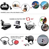 Zookki Sports Accessories Kit for GoPro HERO 4 / 3+ / 3 / 2 / 1 / SJ4000 / SJ5000 / SJ6000 (37 Items)