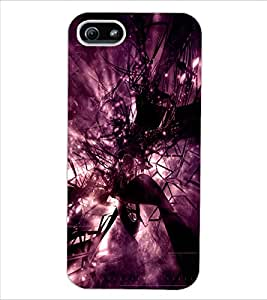 ColourCraft Abstract Design Back Case Cover for APPLE IPHONE 5