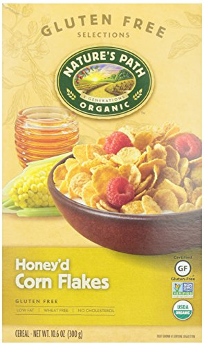 Nature's Path Organic Honey'd Corn Flakes Cereal, 10.6 oz (Gmo Free Rice Cereal compare prices)