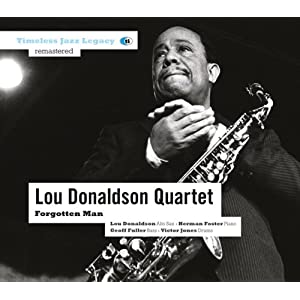 Lou Donaldson - Forgotten Man  cover