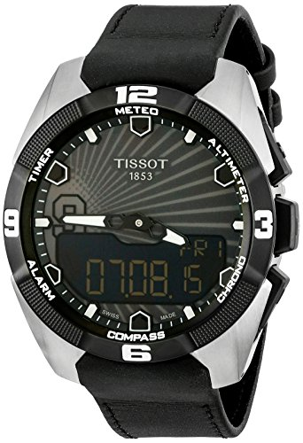 Tissot-Mens-T0914204606100-T-Touch-Expert-Black-Dial-Solar-Tony-Park-Limited-Edition-Swiss-Quartz-Watch