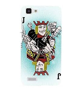 Joker Playing Cards 3D Hard Polycarbonate Designer Back Case Cover for VIVO Y27L :: Y 27L
