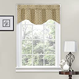 Traditions by Waverly Ellis Window Valance Natural