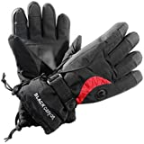 BLACK CANYON Gants de ski avec Thinsulate Noir