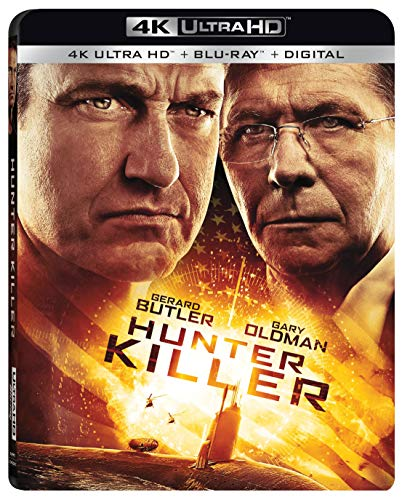 4K Blu-ray : Hunter Killer (With Blu-ray, 4K Mastering, Digital Copy, 2 Pack, Widescreen)