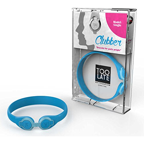bracciale unisex gioielli Too late Clubber trendy cod. 8052745222355