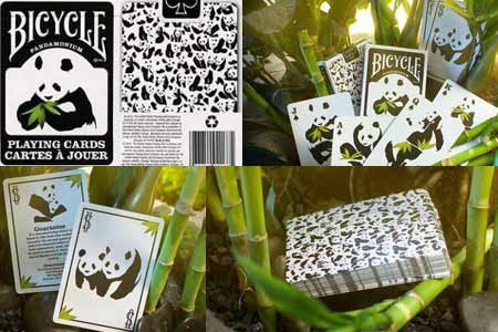 Bicycle Panda Deck by US Playing Card Co. - Trick - 1