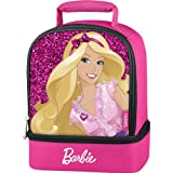 "Barbie ""Sparkle"" Dual-Compartment Soft Lunch Box"