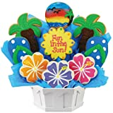 Fun In The Sun Cookie Bouquet Gift Basket {A371}