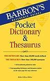 Barrons Pocket Dictionary & Thesaurus