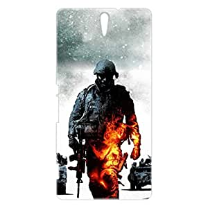 a AND b Designer Printed Mobile Back Cover / Back Case For Sony Xperia C5 Ultra (SON_C5_3D_1055)