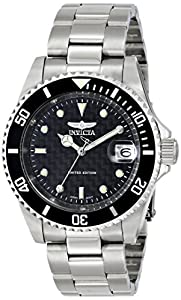 Invicta Men's ILE8926OBA Pro Diver Analog Display Japanese Automatic Silver Watch