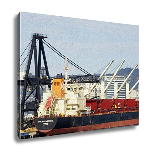 ashley-canvas-bulk-carrier-hanjin-liverpool-docked-at-the-port-of-oakland-16x20