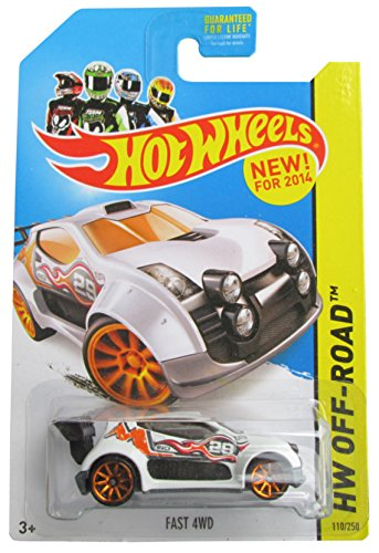 Hot Wheels 2014 Road Rally Hw Off-Road Fast 4WD 110/250