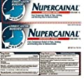 Nupercainal Hemorrhoidal Ointment Dibucaine 1% 2 Oz (Pack of 3)