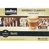 LAVAZZA ESPRESSO CLASSICO 72 PACKS made for KEURIG RIVO SYSTEM
