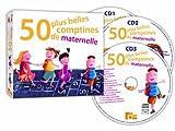 echange, troc Compilation - 50 Plus Belles Comptines de Maternelle