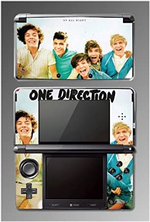 One Direction Up All Night What Makes you Beautiful Game Vinyl Decal Cover Skin Protector Nintendo 3DS