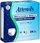 Attends Incontinence Care Breathable Briefs for Adults