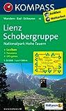 Lienz - Schobergruppe - Nationalpark Hohe Tauern: Wanderkarte mit Kurzführer, Panorama, Radrouten und Skitouren. GPS-genau. 1:50000 (KOMPASS-Wanderkarten)