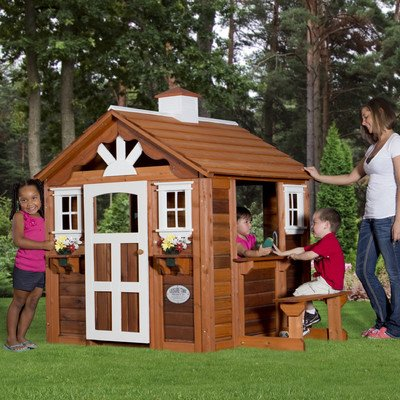 Summer Cottage Playhouse front-245246