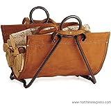Pilgrim 18517 Forged Iron Log Carrier - Vintage Iron