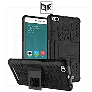 TheGiftKart™ Tough Hybid Dual Layer ShockProof Armor with Kick Stand Back Case Cover For Xiaomi Redmi 3S (Not Compatible With Xiaomi Redmi 3S PRIME)