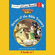 Heroes of the Bible Treasury Audiobook by  Zonderkidz Narrated by  full cast
