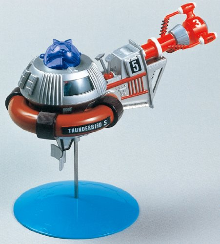 Aoshima Models Mini Thunderbirds 3 and 5 Model Building Kit