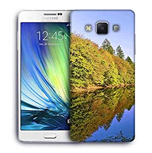 Snoogg River And Forest Designer Protective Phone Back Case Cover For Samsung Galaxy A7