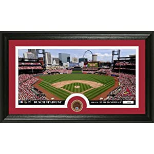 MLB St. Louis Cardinals Infield Dirt Coin Panoramic Mint Photo by Bullion International
