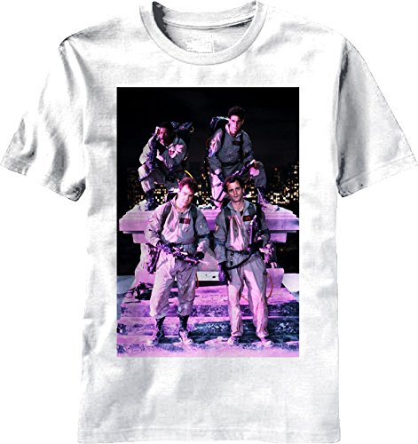 Mens Ghostbusters Group T Shirt White White