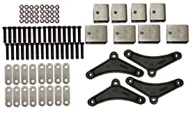 R and P Carriages Tri Axle Spring Hanger Kit