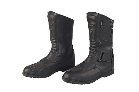 Modeka mONZA bottes de moto en cuir noir