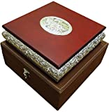 The Divine Luxury Silver-Plated Dry Fruit Box