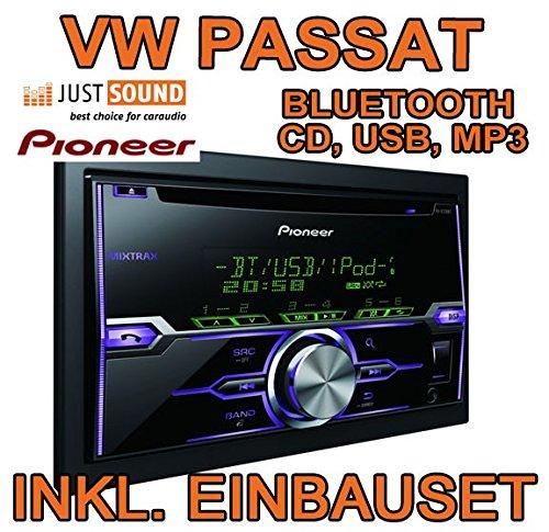 VW passat 3C/b7/cC-pioneer fH-x720BT-bLUETOOTH/uSB/mP3 avec écran tactile et kit de montage