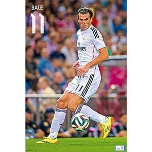 Premiership Soccer Gareth Bale Action Poster