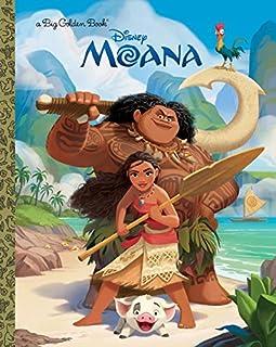 Book Cover: Moana Big Golden Book