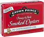 Crown Prince Smoked Oysters in Cotton...