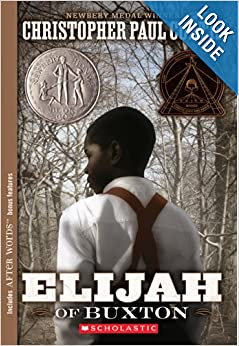 book report on elijah of buxton