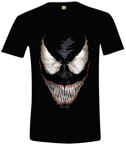 Marvel - Carnage, T-shirt da uomo, nero (noir), XX-Large (Taglia Produttore: XXL)