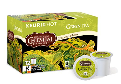 Celestial Seasonings Natural Antioxidant Green Tea, Keurig K-Cups, 72 Count (Keurig K Cup Teas White compare prices)