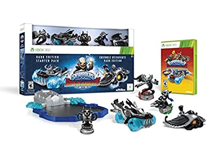 Skylanders SuperChargers Dark Edition Starter Pack - Xbox 360