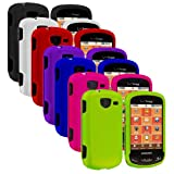 Importer520 7in1 Colorful Combo Rubberized Hard Protector Case Cover for Samsung Brightside U380