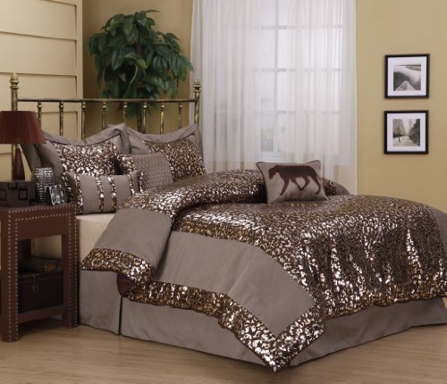 Leopard Bed Set at Home and Interior Design Ideas