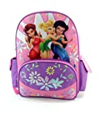 """Disney's Fairies Large 16"""" Backpack - Featuring Tinker Bell"""