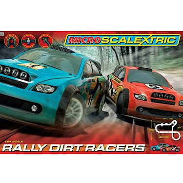 Scalextric Micro Rally Dirt Racers by Scalextric