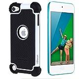 i-Blason Armadillo Series 2 Layer Defender Case for iPod touch 5G (White)